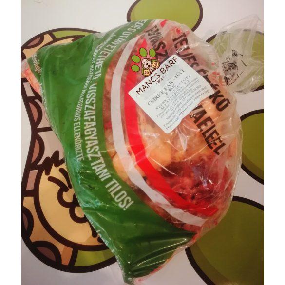 Csirke far-hát kimérős 2,1-3 kg kiszerelésben
