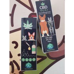 CBD olaj  Kutyáknak és Macskáknak 10ml 1000 mg Konikanna