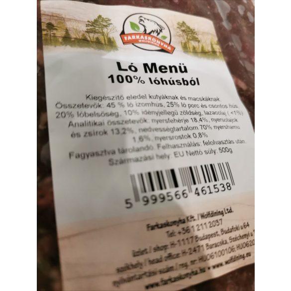 Ló menü - 100% lóhúsból  500g