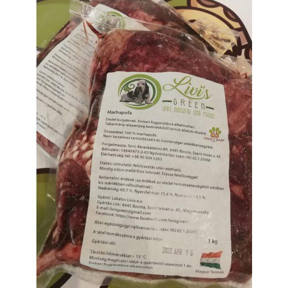 Marhahús marhapofa prémium , darabolt, 1kg