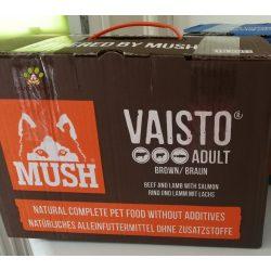Mush Brown Marha-Bárány-Lazac 10kg komplett menü
